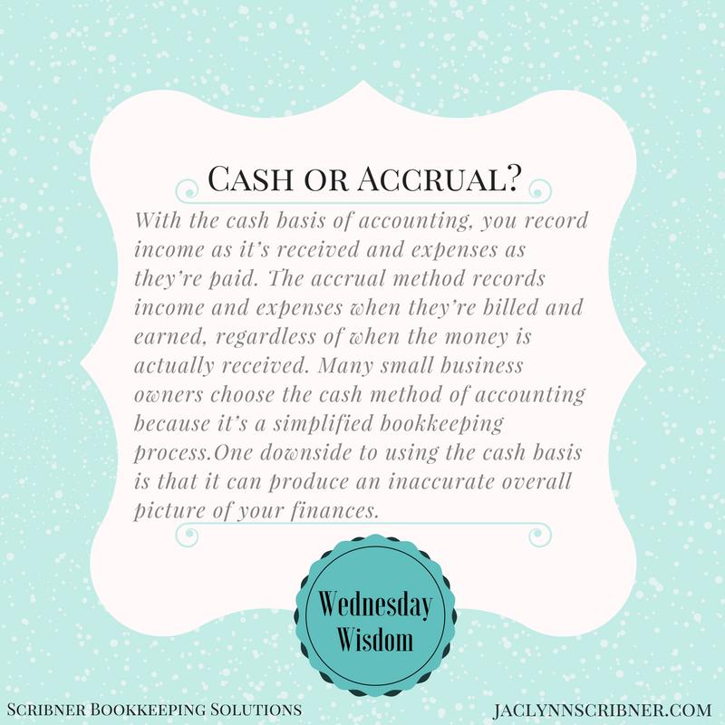 cashoraccrual